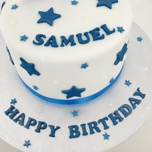 simple birthday cake class 5