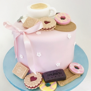 tea and biscuits cake class 2