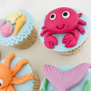 under the sea cupcakes 3