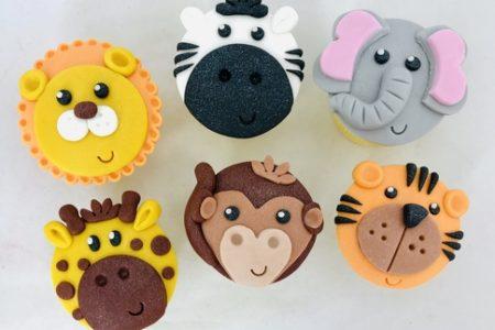 safari cupcakes 1